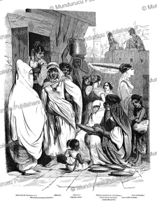 women of northern africa, l'illustration, 1846
