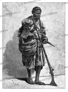Deer hunter of North Africa, Courboin, 1881 | Photos and Images | Travel