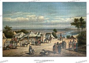 Tuareg Camp, after Adolphe Rouargue, 1879 | Photos and Images | Travel