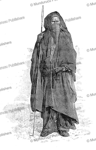 A veiled Tuareg man in Sombre Garments, Felix Dubois, 1897 | Photos and Images | Travel