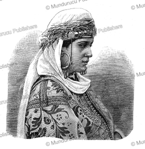 Costume of a rich Moroccan woman, Oskar Lenz, 1884 | Photos and Images | Travel