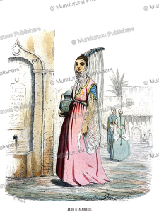 Married Jewish woman, Morocco, Th. Frere, 1846 | Photos and Images | Travel