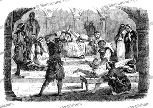 Punishment at the court of the Emperor of Morocco, Ciappori, 1846 | Photos and Images | Travel