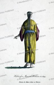 Habit of a Moorish woman in 1695, Pidou de Saint-Olon, 1757 | Photos and Images | Travel