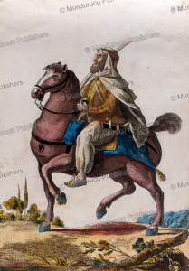 Horseman from company of Moors from Oran in Algeria about 1734, Vinkhuijzen Collection, 1910 | Photos and Images | Travel