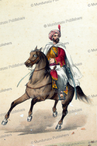 mogataz or moor from oran in algeria about 1737, vinkhuijzen collection, 1910