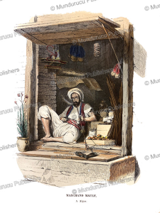 Moorish merchant, Algeria, Philippoteaux, 1846 | Photos and Images | Travel