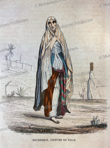 Moorish woman, Th. Frere, 1846 | Photos and Images | Travel