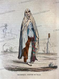 moorish woman, th. frere, 1846