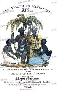 moors of the sahara, frederic shoberl, 1821