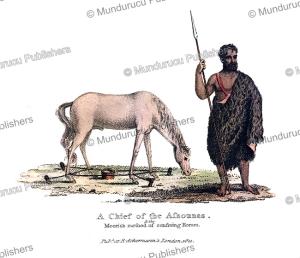 a moorish chief and method of restraining a horse, frederic shoberl, 1821