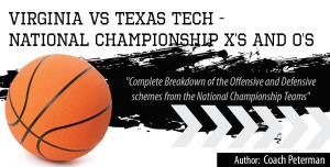 Virginia - Texas Tech: NCAA Championship X`s and O`s Playbook | eBooks | Sports