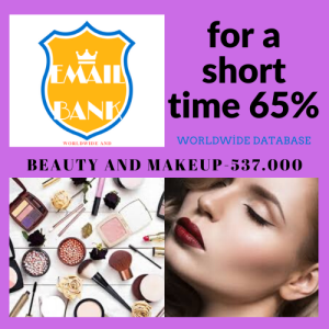 beauty and makeup email database
