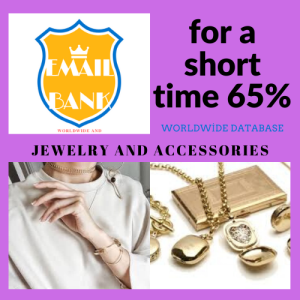 jewelry and accessories keyword email database