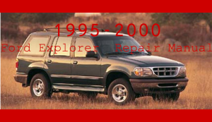 ford explorer 1995 - 2000 service repair manual