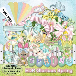 Glorious Spring Kit | Other Files | Scrapbooking