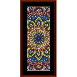 Mandala 1 Bookmark cross stitch pattern by Cross Stitch Collectibles | Crafting | Cross-Stitch | Other