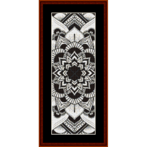 Mandala 3 Bookmark cross stitch pattern by Cross Stitch Collectibles | Crafting | Embroidery