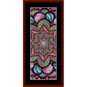 Mandala 15 Bookmark cross stitch pattern by Cross Stitch Collectibles | Crafting | Embroidery
