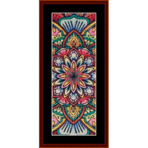 Mandala 16 Bookmark cross stitch pattern by Cross Stitch Collectibles | Crafting | Cross-Stitch | Other
