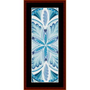 mandala 21 bookmark cross stitch pattern by cross stitch collectibles