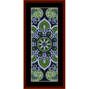 Mandala 29 Bookmark cross stitch pattern by Cross Stitch Collectibles | Crafting | Cross-Stitch | Other