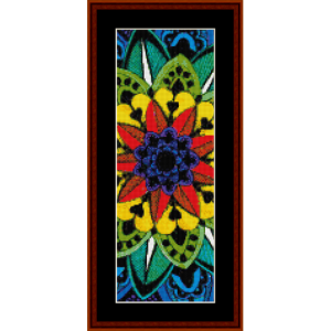 Mandala 34 Bookmark cross stitch pattern by Cross Stitch Collectibles | Crafting | Cross-Stitch | Other