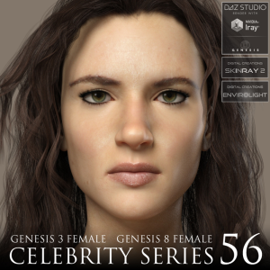 celebrity series 56 for genesis 3 and genesis 8 female
