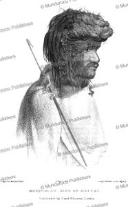 moyengully, king of nattai in australia, thomas mitchell, 1839