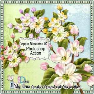 Apple Blossoms 02 | Other Files | Scrapbooking