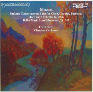 "mozart: sinfonia concertante in e-flat major, k.297b/""idomeneo"" ballet music - orpheus chamber orchestra"