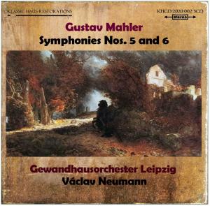 mahler: symphonies nos. 5 & 6 - gewandhausorchester leipzig - vaclav neumann
