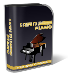 5 videos steps to learning piano with private label rights?  to learning piano software with different terms, then please submit a plr product request.