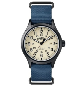 expedition scout 40mm fabric slip-thru strap watch
