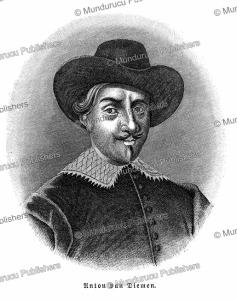 anton van diemen (1593-1645), patron of abel janszoon tasman who discovered tasmania, wilhelm sievers 1895.
