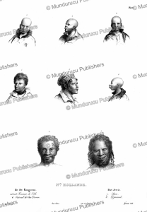 Natives of New Holland and Tasmania, Louis Auguste de Sainson, 1830 | Photos and Images | Travel