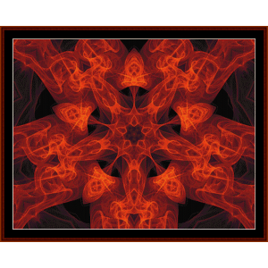 Fractal 32 cross stitch pattern by Cross Stitch Collectibles | Crafting | Cross-Stitch | Other