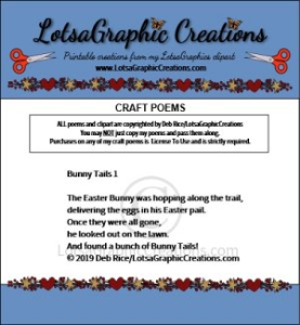 Bunny Tails 1 Poem | Other Files | Arts and Crafts