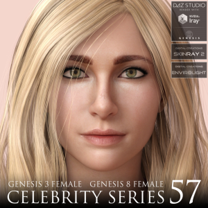 Celebrity Series 57 for Genesis 3 and Genesis 8 Female | Software | Design