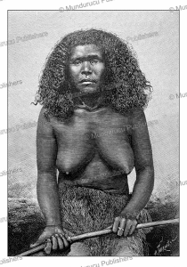 Woman of Mare´, one of the Loyalty Islands, New Caledonia, Vanuatu, H. Thiriat, 1889 | Photos and Images | Travel