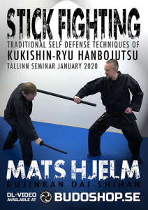 stick fighting, traditional self defence techniques w mats hjelm (extended version)