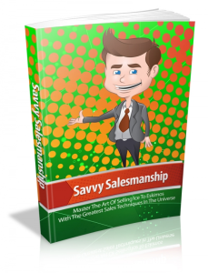 Savvy Salesmanship | eBooks | Business and Money
