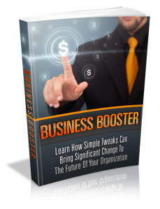 Business Booster | eBooks | Business and Money