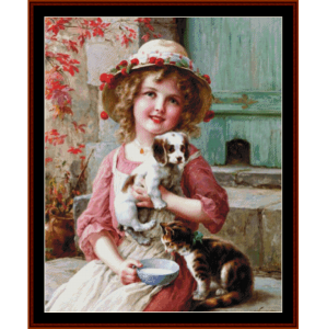 Friends - Emile Vernon cross stitch pattern by Cross Stitch Collectibles | Crafting | Cross-Stitch | Other