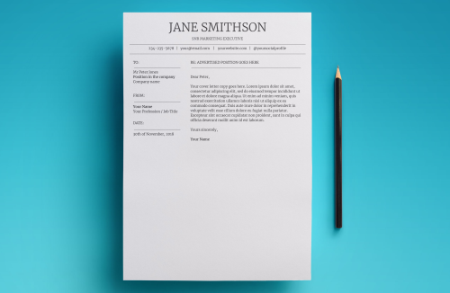 First Additional product image for - Callisto Resume Template