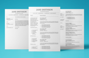 callisto resume template