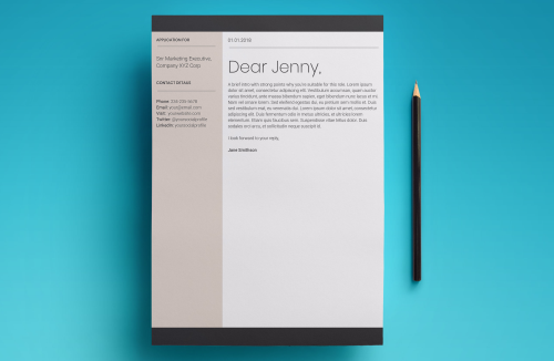 First Additional product image for - Europa Resume Template