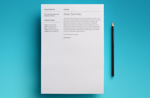 First Additional product image for - Mars Resume Template