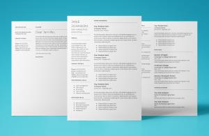 mars resume template