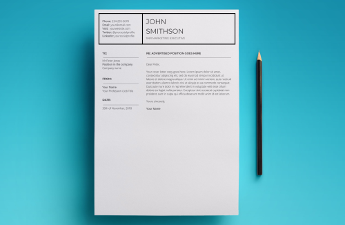 First Additional product image for - Pandora Resume Template
